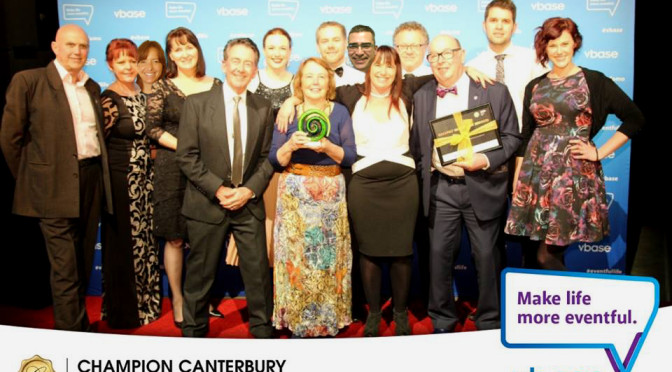 Catapult wins Champion Canterbury Business Award!
